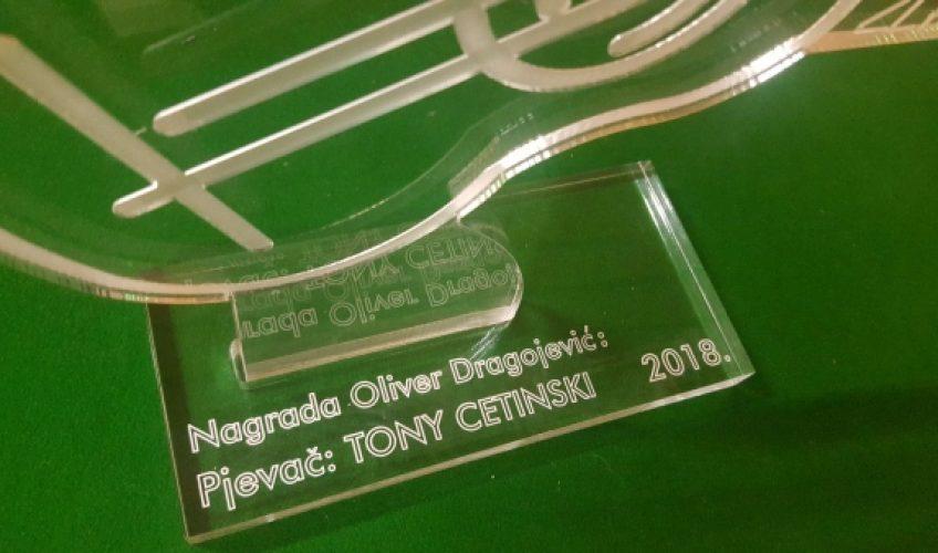 Tony Cetinski dobitnik nagrade 'Oliver Dragojević' za najboljeg pjevača!