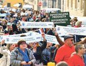 Na Trgu očekuju 20.000 ljudi: 'Moć ljudi jača je od igara moći'