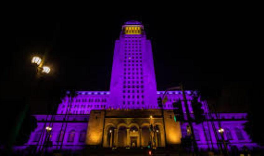 Los Angeles zasvijetlio u bojama Lakersa u čast Kobea Bryanta