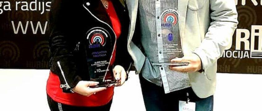 Dodijeljene nagrade HURiN-a: Super radio dobio nagradu za najbolju web stranicu i 10 godina rada