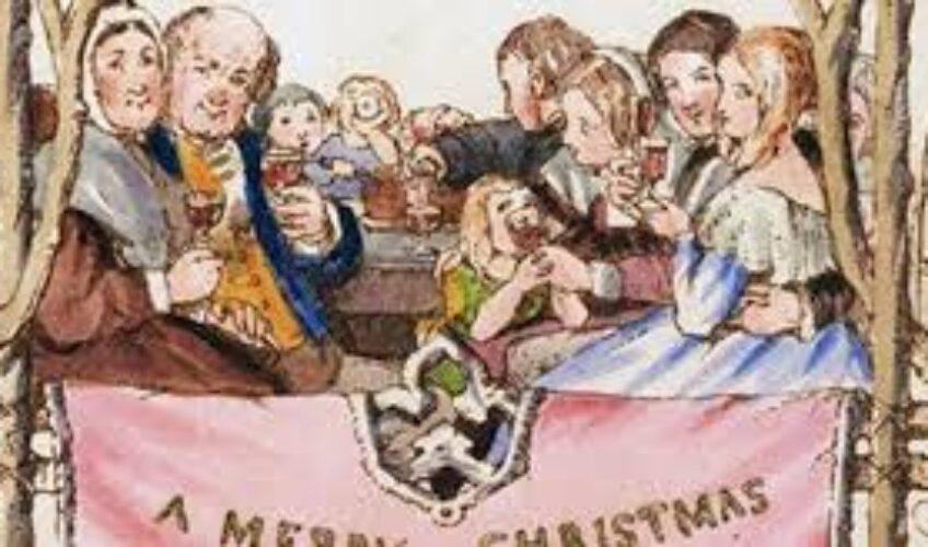 Prodaje se prva božićna čestitka. Detalj na njoj izazvao je pravi skandal