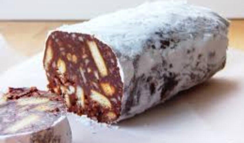 Recept za čokoladnu Božićnu salamu
