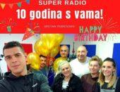 Super radio – 10 godina s vama !!!