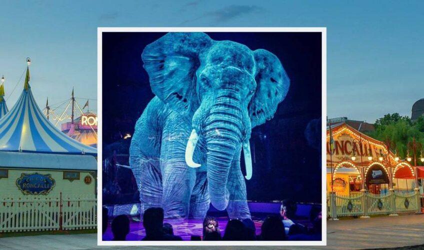 Njemački cirkus zamijenio je životinje njihovim hologramima